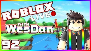 WesDan's ROBLOX Live Stream | Jailbreak and More | STREAM 92