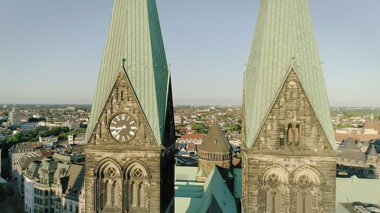 Drohnenaufnahmen vom Bremer St. Petri Dom 3