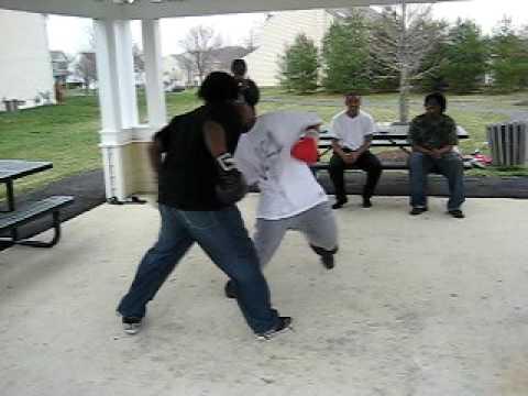 Collington station boxing 2