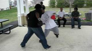 Collington station boxing 2