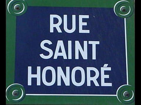 Rue Saint Honoré Paris Arrondissement  1er, 8e