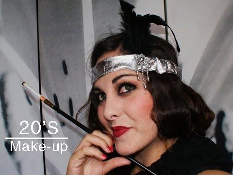 maquillaje años 20 charleston