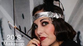 Maquillaje años 20 / 20's makeup look