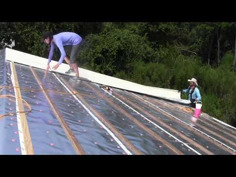Episode 39: Installing Garage Roof Panels