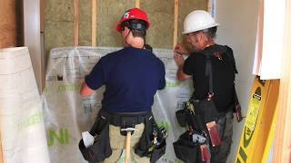 Installing INTELLO PLUS In Wood Frame Buildings With Batt Insulation