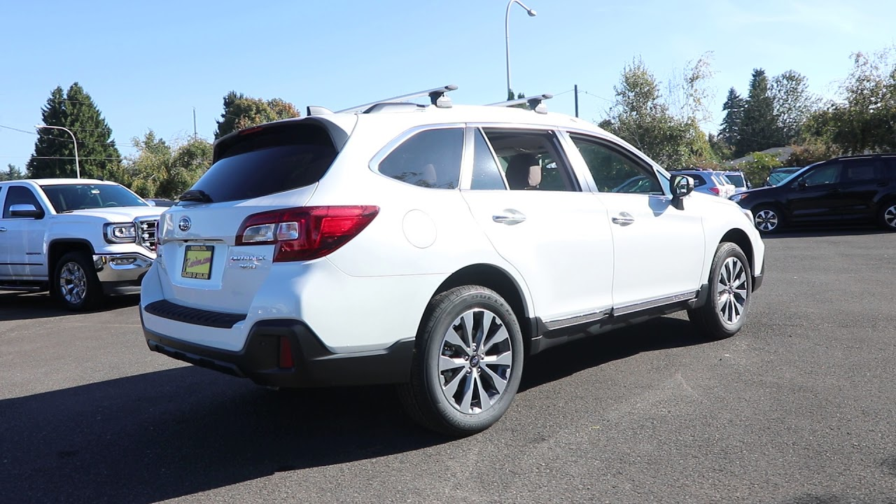 2018 subaru outback white. interesting subaru 2018 subaru outback 36r touring  crystal white pearl j3223057 to subaru outback white