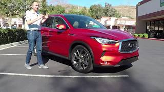 2018 Infiniti QX50 - First Drive Test Video Review