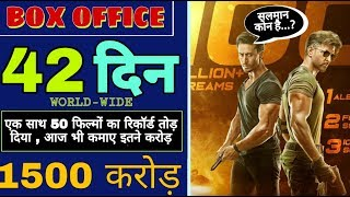 War 43th Day Box Office Collection । War Movie Collection। War movie Box office collection