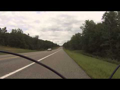 Cycling training ride: Breezy Point, Jenkins, and Ideal Corners, MN