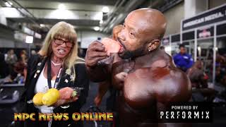 2018 212  Olympia Finals Backstage Video