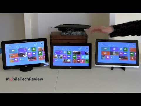 Microsoft Surface Pro, Samsung ATIV Smart PC Pro 700T, Acer Iconia W700 Comparison Smackdown
