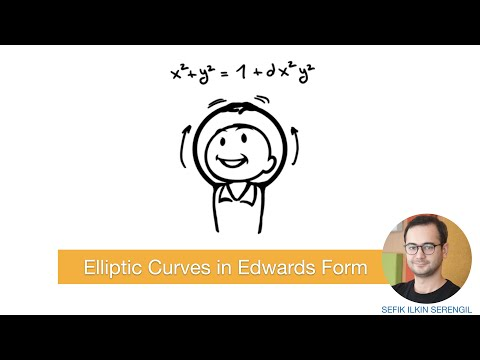 Elliptic Curves In Edwards Form (Edwards Curves)