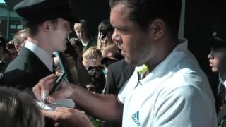 Jo-Wilfried Tsonga (Wimbledon 2011, Day 6) (HD)