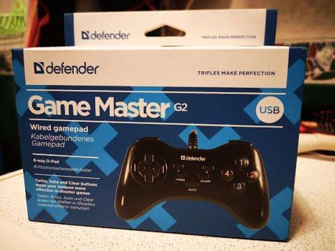Обзор геймпада Defender Game Master G2 (самый дешевый геймпад в ДНС)
