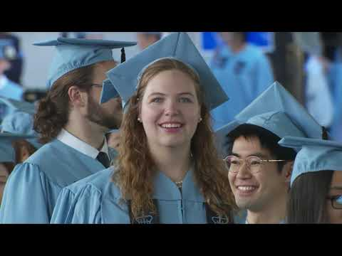 Columbia University Graduate School Of Arts And Sciences 2019 MA Class Day Ceremony