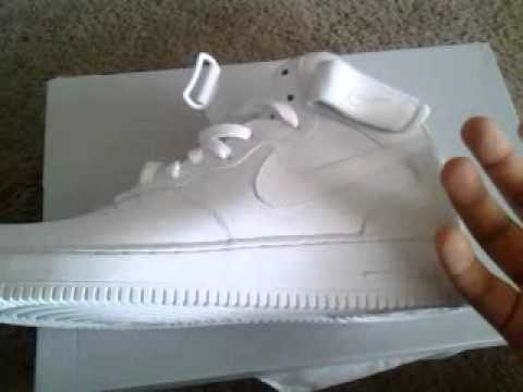 ea83fc91068 Nike airforce 1 hightop white review