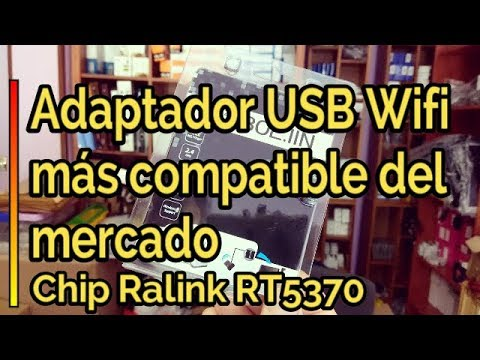 🆙 La MEJOR Antena USB WIFI ➡ Chip Ralink RT5370 para Decodificadores  Satélite