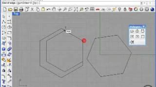 Rhino 4. Эллипсы и многоугольники.