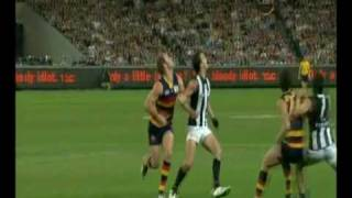 """Right in front of me"" Crows supporter"