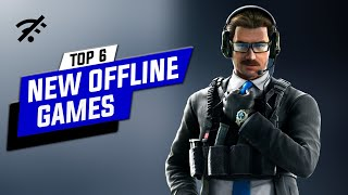 Top 6 NEW OFFLINE GAMES For ANDROID Devices 2020 !!