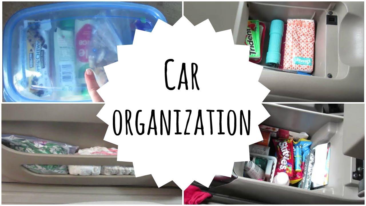 Car Organization Toyota Sienna Minivan Youtube