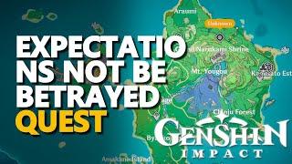 Expectations Not Be Betrayed Genshin Impact