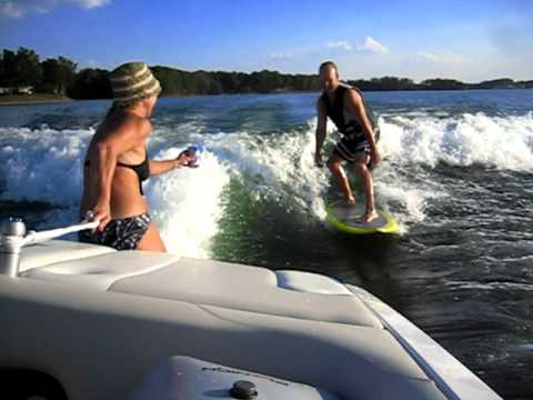 Wake Board-Beer Surf