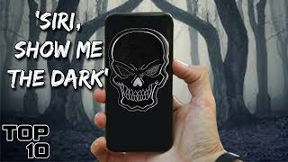 Top 10 Scary Things You Should NEVER Say To Siri