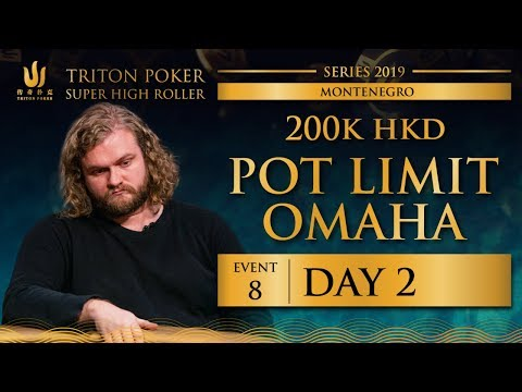 Triton Montenegro 2019 - Pot Limit Omaha €22K - Day 2