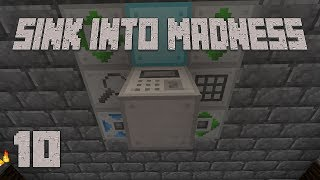 ►NINJA PROCESSING! | Sink Into Madness #10 | Modded Minecraft◄ | iJevin