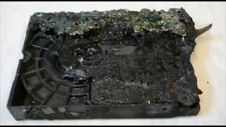 DIY: Repair Hard Drive PCB. How to swap circuit board ROM chip.