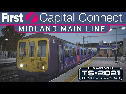 Midland Main Line - FULL RUN of the ROUTE Time-Lapse - Train Simulator |