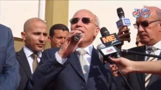 أخبار اليوم | كلمة وزير الانتاج الحربي مناسبة افتتاح مدرسة تحيا مصر 2