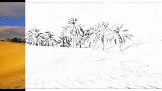 Auto Draw 2: Desert Oasis, Tunisia