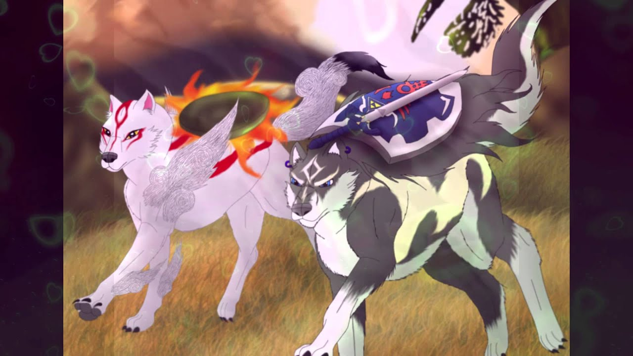 Stardust- Amaterasu x Wolf Link [PMV] - YouTube