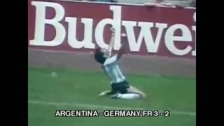 Final Piala Dunia 1986 Argentina vs Germany FR