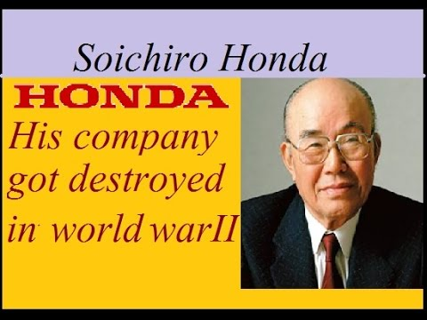 Success story of HONDA MOTORS | Soichiro Honda Biography .