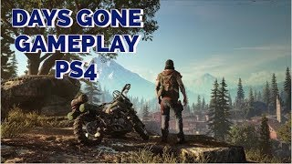 Days Gone Gameplay Demo PS4