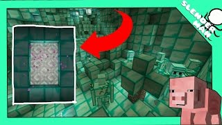 troll mều bằng căn hầm bí mật trong minecraft