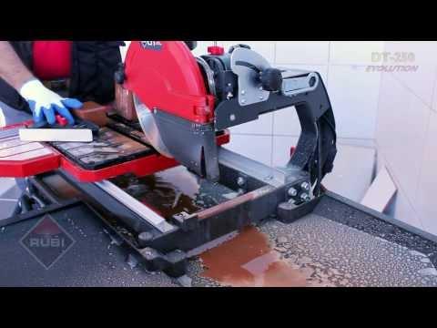 RUBI DT 250 EVOLUTION Wet tile saw