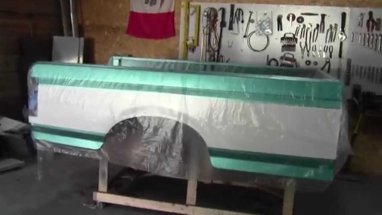 1994 F150 Restoration 27 Paint Time Youtube 1955 Ford F100 Colors