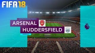 FIFA 18 - Arsenal vs. Huddersfield Town @ Emirates Stadium