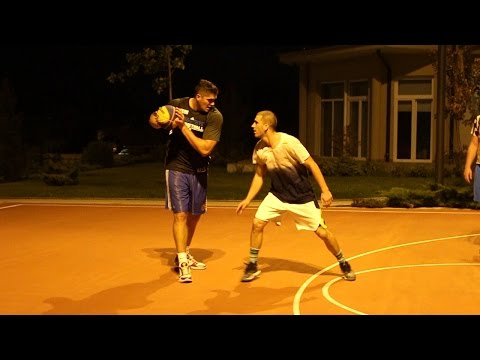All day Streetball with ex NBA player
