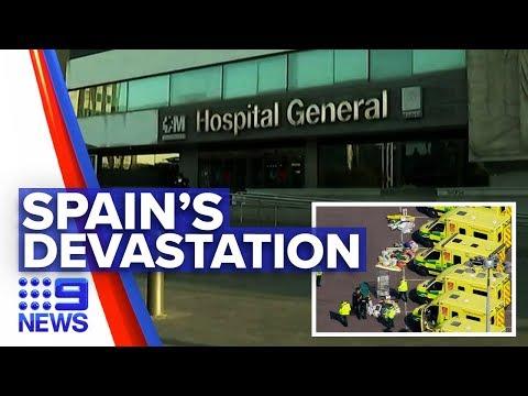 Coronavirus: Majority Of Deaths Coming From Europe | Nine News Australia