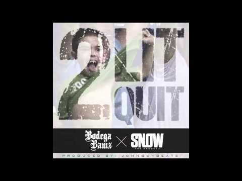 2Lit2Quit feat. Snow Tha Product (prod.johnboybeats) (AUDIO)
