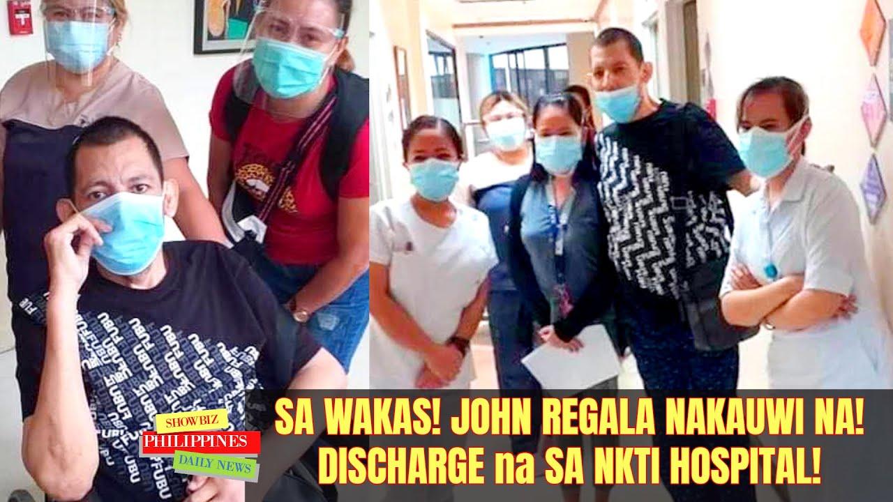 FINALLY! John Regala NAKAUWI Na sa BAHAY NIYA sa Q.C. galing sa NKTI Hospital