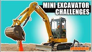Mini Excavator Challenge Course Overview | Heavy Metal Rodeo