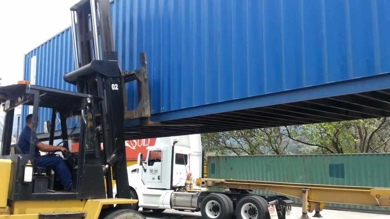 Eduarduker en montacargas de 9 toneladas youtube - Precios montacargas para personas ...