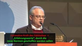 Sexualpädagogik auf dem Prüfstand - Teil 1 - Vortrag von Prof. Dr. Jakob Pastötter