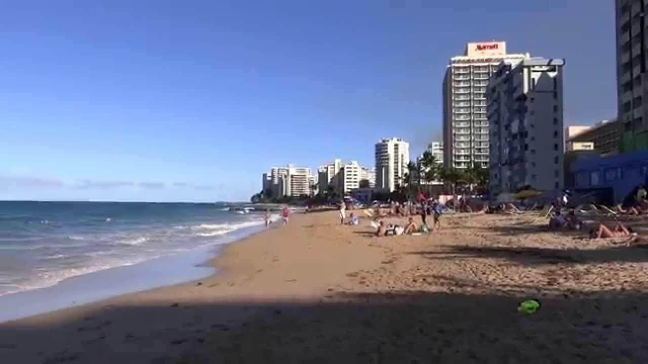 San Juan Puerto Rico Condado Beach Hd 2017